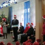 Pan Marcin Nastawny odbiera podziękowania w imieniu sponsorów: PKW S.A. oraz Fundacji TAURON