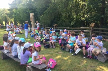 Dzień Dziecka młodszych grup przedszkolnych wGalerii Drzewiej.