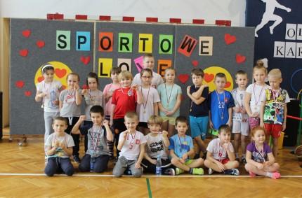 Karnawałowa Olimpiada Sportowa wSzkole Podstawowej nr2 wLibiążu.