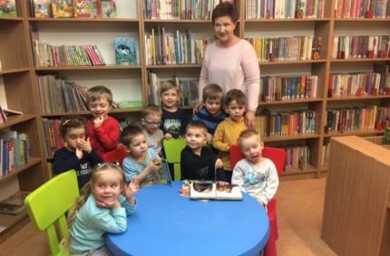 Wizyta wMiejskiej Bibliotece Publicznej