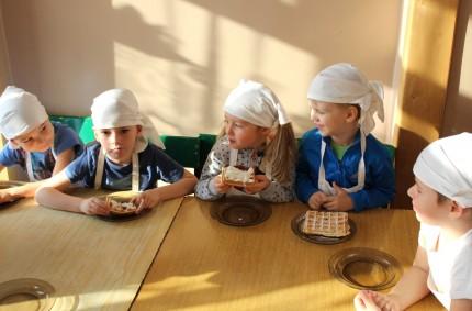Słodziaki przedszkolaki- gofry wgrupie II