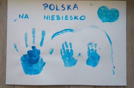 Polska naniebiesko